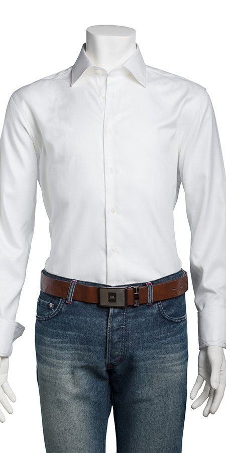 Classic Slim Fit White